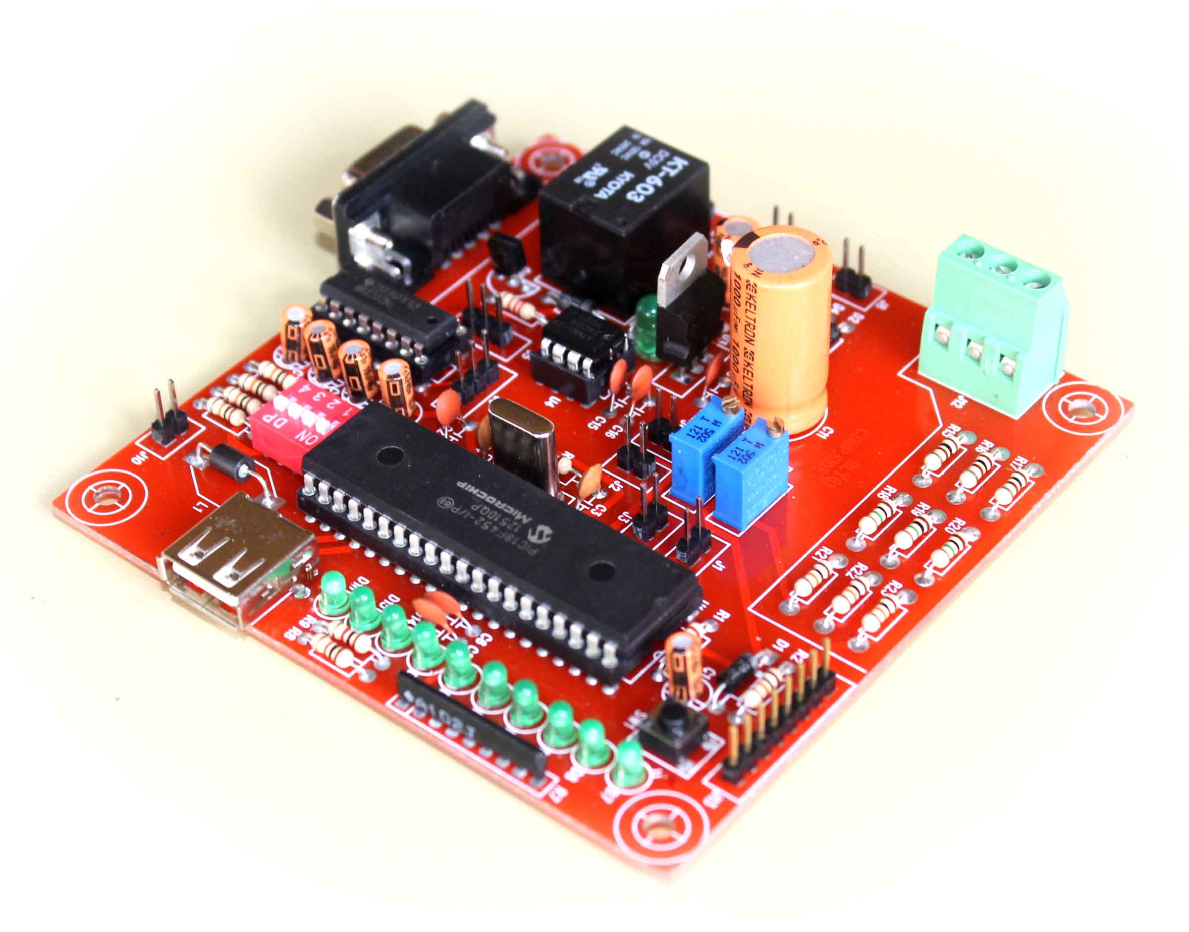 Einnovation Technologies Pvt Ltd Electronic Circuit Design Pune Pic Development Board Is Proposed To Smooth The Progress Of Developing And Debugging Various Designs Encompassing Microcontrollers